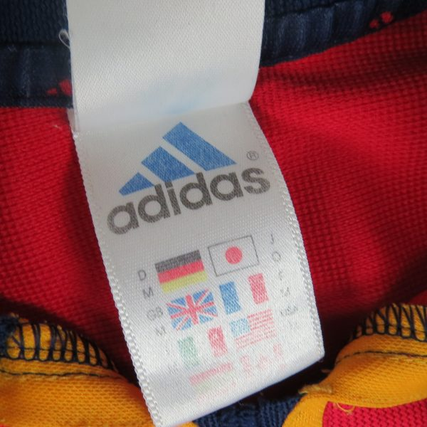 Spain 2000-02 home shirt adidas soccer jersey size M (Euro 2000) 8 signatures (3)