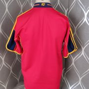Spain 2000-02 home shirt adidas soccer jersey size M (Euro 2000) 8 signatures (5)
