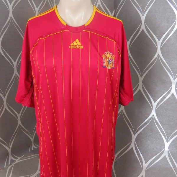 Spain 2006-08 home shirt adidas soccer jersey size XXL World Cup 06 (1)
