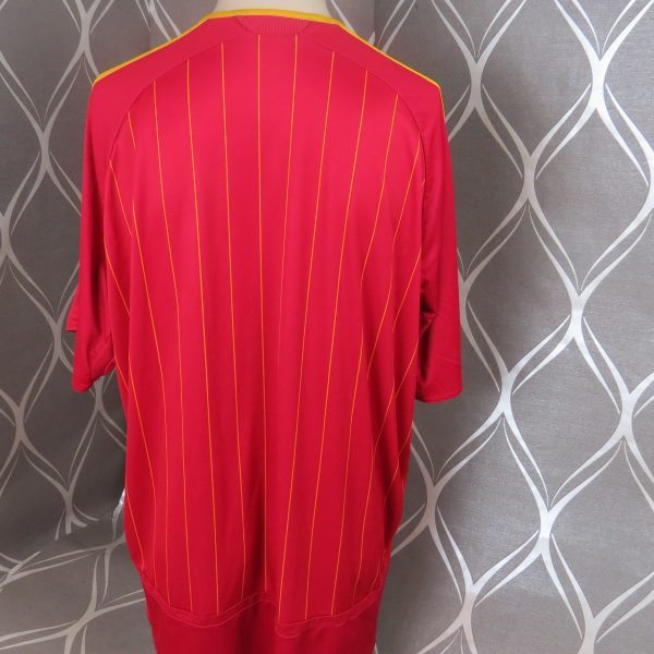 Spain 2006-08 home shirt adidas soccer jersey size XXL World Cup 06 (4)