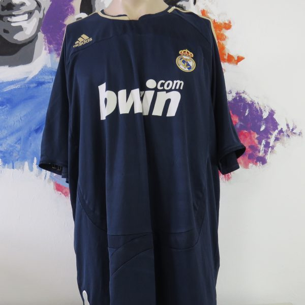 reputable site 87de6 092af Vintage Real Madrid 2006 2007 LFP away shirt adidas soccer jersey size XXL