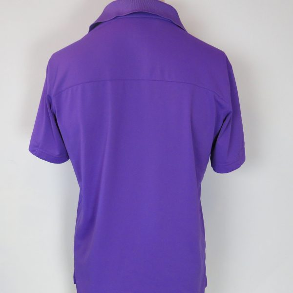 Adidas Golf Men's purple polo shirt size S (2)