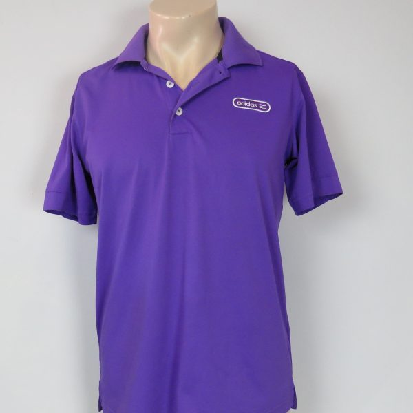 Adidas Golf Men's purple polo shirt size S (3)