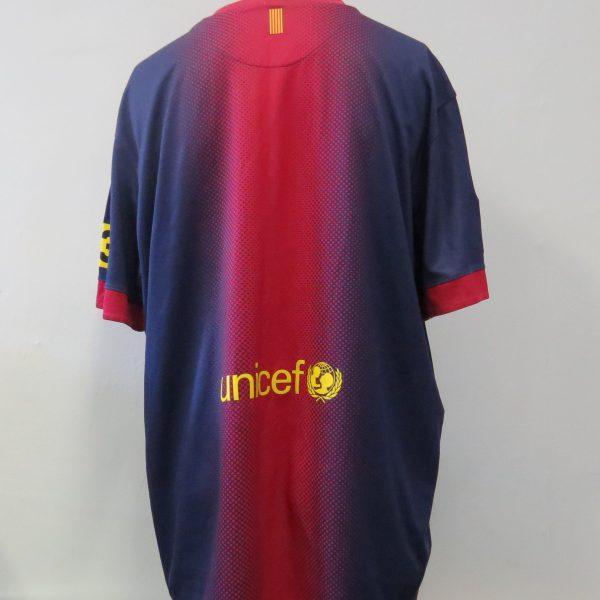 Barcelona 2012-13 home shirt Nike soccer jersey size XXL (2)