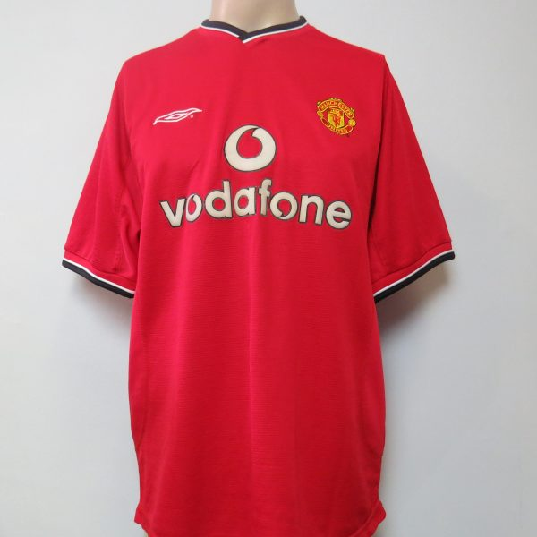 Manchester United 2000-02 home shirt Umbro soccer jersey Giggs 11 size L (3 feb0d3a62