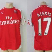 Arsenal 2014-15 home shirt Puma soccer jersey Alexis 17 size M (3)