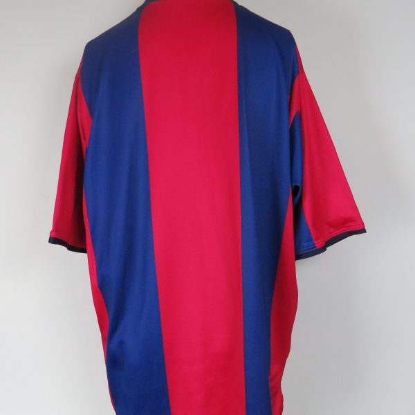 best sneakers 8adf3 0f075 Barcelona 2000-01 home stadium shirt Nike soccer jersey size XL