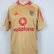 Benfica 2004-05 away shirt Adidas soccer jersey size S (1)