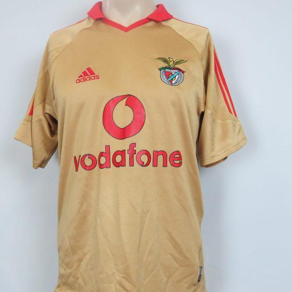 wholesale dealer b236e a5aa7 Benfica 2004-05 away shirt Adidas soccer jersey size S
