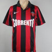 Citta di Sorrento 2012-13 home shirt Nike soccer jersey size S (1)