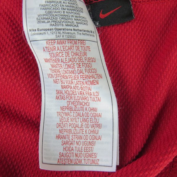 Manchester United 2006-07 home shirt Nike soccer jersey size L (3)