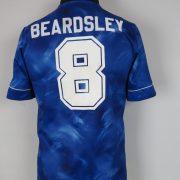 Newcastle United 1993 95 away shirt adidas jersey Beardsley 8 size S (2)