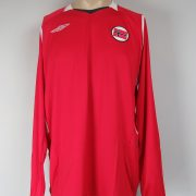 Norway 2008-09 LS home shirt Umbro soccer jersey size XL (1)