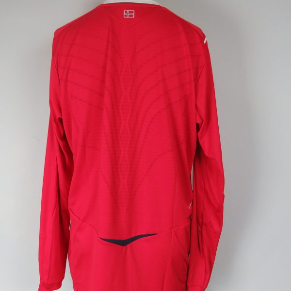 Norway 2008-09 LS home shirt Umbro soccer jersey size XL (2)