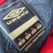 Norway 2008-09 LS home shirt Umbro soccer jersey size XL (3)