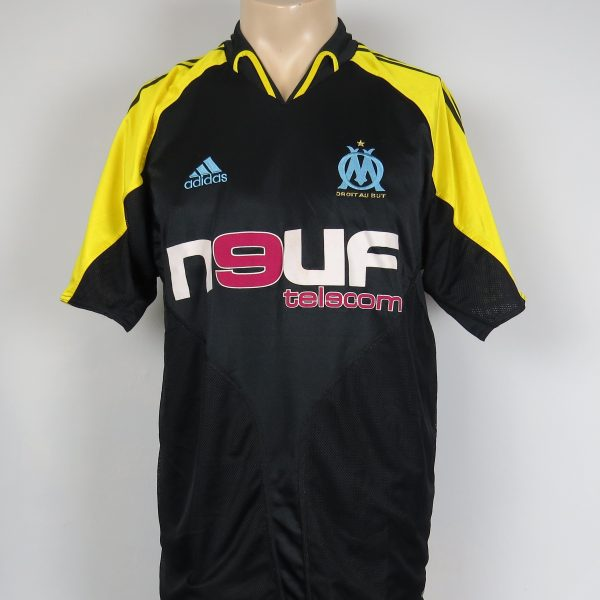Olympique Marseille 2004-05 third shirt adidas soccer jersey size M (1)