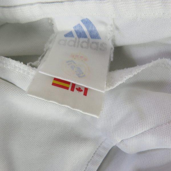 Real Madrid 2001-02 LFP Centenary home shirt adidas soccer jersey size L (3)