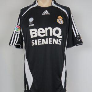 08c24dfbae5 Real Madrid 2006-07 LFP away shirt adidas soccer jersey size M