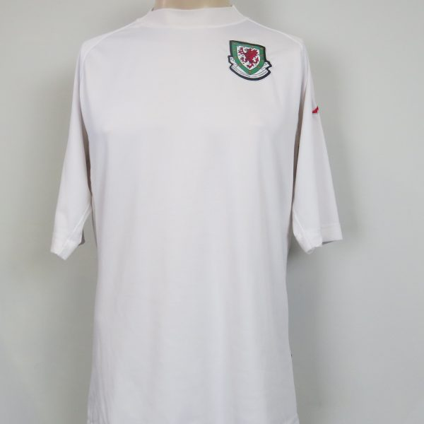1c853d87e7dade Wales 2004-06 away shirt KAPPA (tight fitting) soccer jersey size XXL (