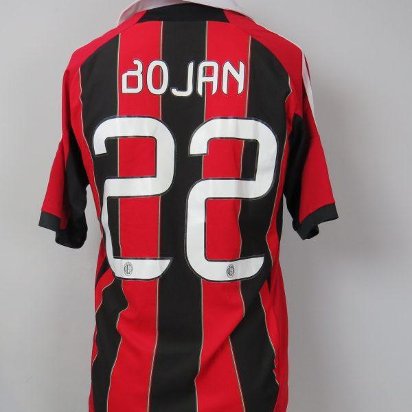 AC Milan 2012-13 Serie A home shirt adidas jersey Bojan 22 size S (1)