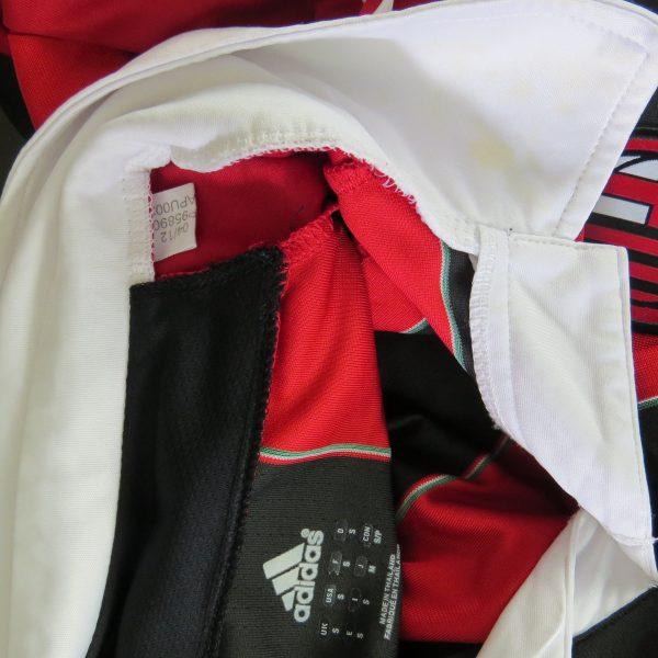 AC Milan 2012-13 Serie A home shirt adidas jersey Bojan 22 size S (2)