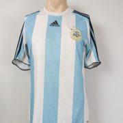 Argentina 2007-09 home shirt adidas soccer jersey size M (1)