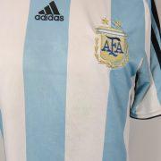 Argentina 2007-09 home shirt adidas soccer jersey size M (2)