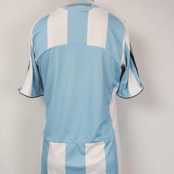 Argentina 2007-09 home shirt adidas soccer jersey size M (5)