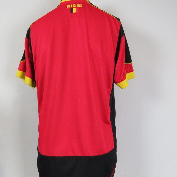 Belgium 2012-13 home shirt Burrda soccer size 2XL (2)