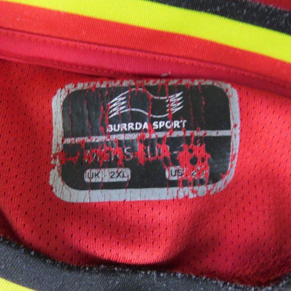 Belgium 2012-13 home shirt Burrda soccer size 2XL (3)