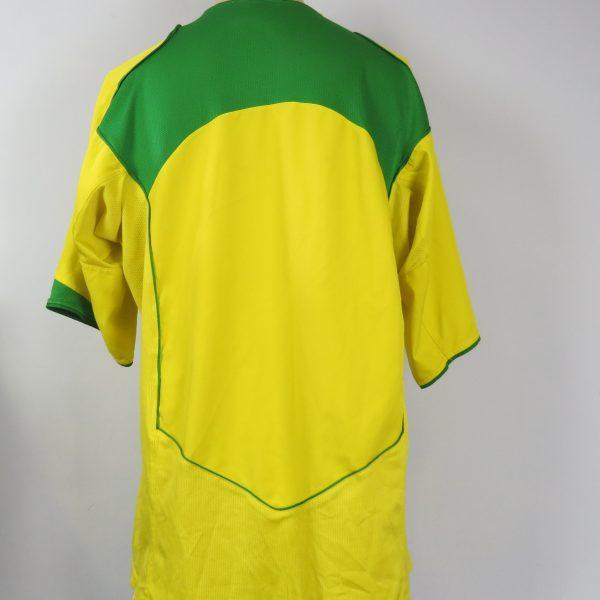 Brazil 2004-06 home shirt NIKE Brasil soccer jersey size XL (2)