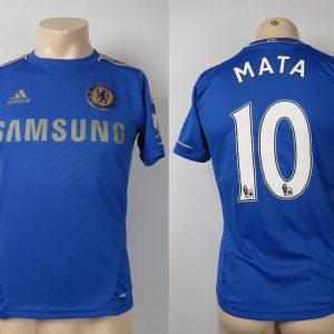 a36500167 Chelsea 2012-13 home shirt adidas Mata 10 size Boys XL 164cm 13 14Y