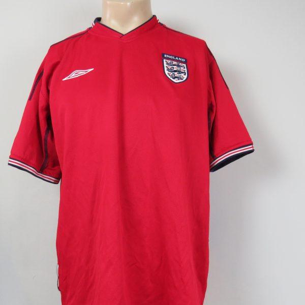 England 2002-04 away shirt Umbro jersey size L World Cup 2002 (1)