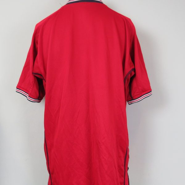 England 2002-04 away shirt Umbro jersey size L World Cup 2002 (2)