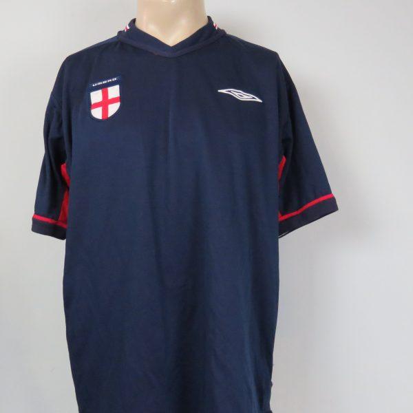 England 2002-04 away shirt Umbro jersey size L World Cup 2002 (4)