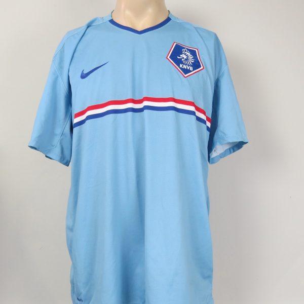 reputable site 29013 d6cea Vintage Holland 2008 2009 away shirt Nike Netherlands soccer jersey size XL