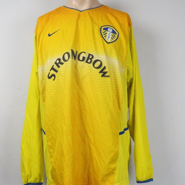 14e194b7841 Leeds United 2002-03 L S away shirt Nike soccer jersey size XL ...