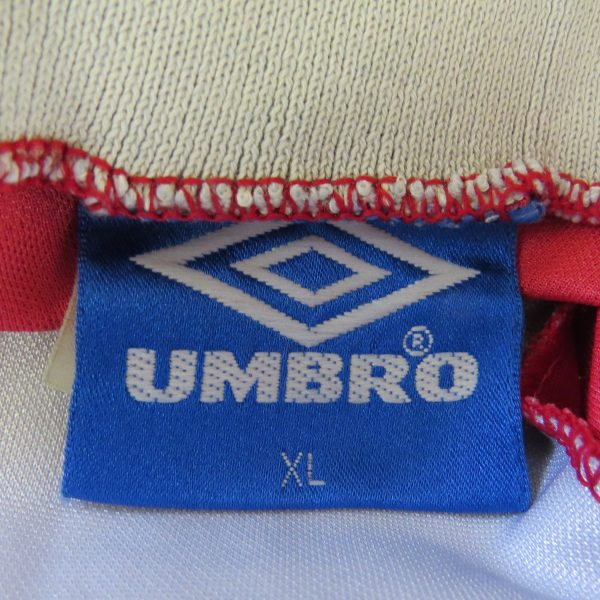 Manchester United 1992-94 home shirt Umbro soccer jersey size XL (3)