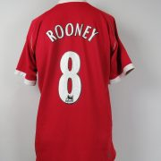 Manchester United 2006-07 home shirt Nike soccer jersey Rooney 8 size L (3)