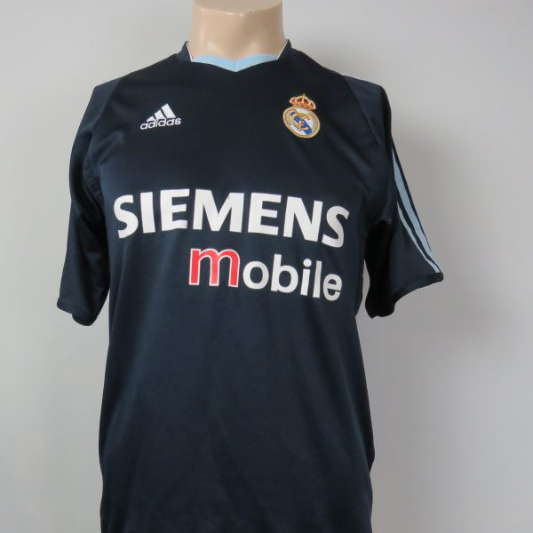 check out d2d0e 31516 Real Madrid 2003-04 LFP away shirt adidas soccer jersey size S