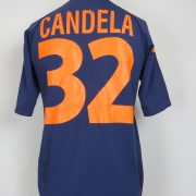 AS Roma 2000-01 third shirt Kappa soccer jersey size Candela 32 size L (1)