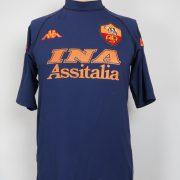 AS Roma 2000-01 third shirt Kappa soccer jersey size Candela 32 size L (2)