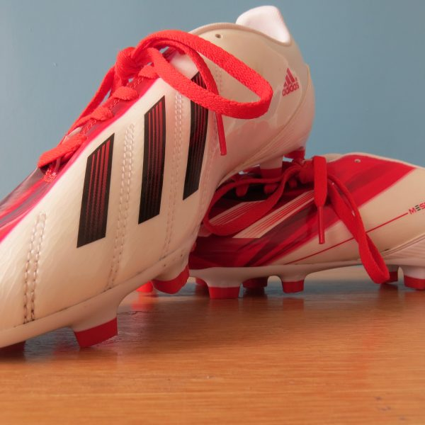 Adidas F10 Messi 2012 TRX white Football JR boots FG UK5.5 EU 38 23 (4)