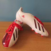 Adidas F10 Messi 2012 TRX white Football JR boots FG UK5.5 EU 38 23 (5)