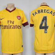Arsenal 2012-13 third shirt Nike soccer jersey Fabregas 4 size S