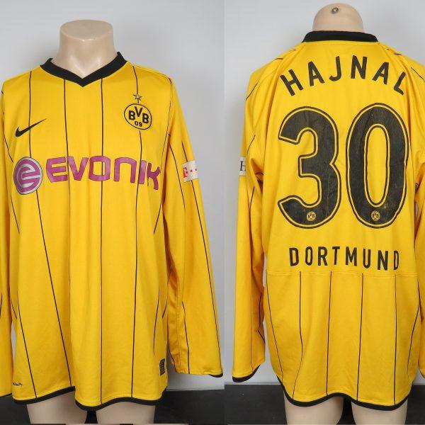 hot sales fb929 db4d9 Borussia Dortmund 2008-09 BL home shirt L/S trikot Hajnal #30 jersey size XL