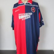 Cagliari 2000-01 home shirt Uhlsport soccer jersey size XXL (1)