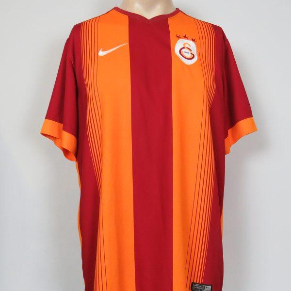 Galatasaray 2014-15 home shirt adidas soccer jersey Melo 3 size XL (2)