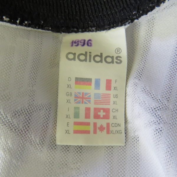 Germany 1996-98 home shirt adidas soccer jersey #8 size XL (EURO 96) (2)