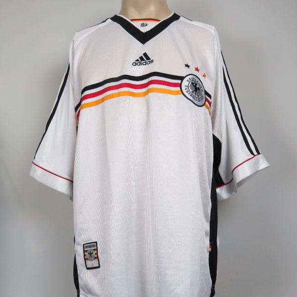 c4854fd5f0c Germany 1998-00 home shirt adidas soccer jersey size XL (World Cup ...